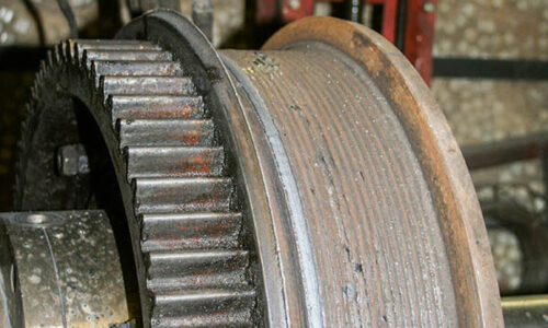 Ремонт крановых колес